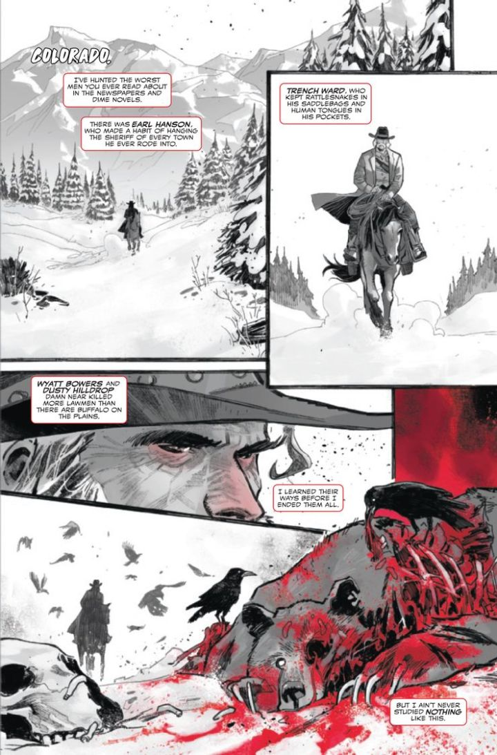 Carnage Black White Blood preview #5