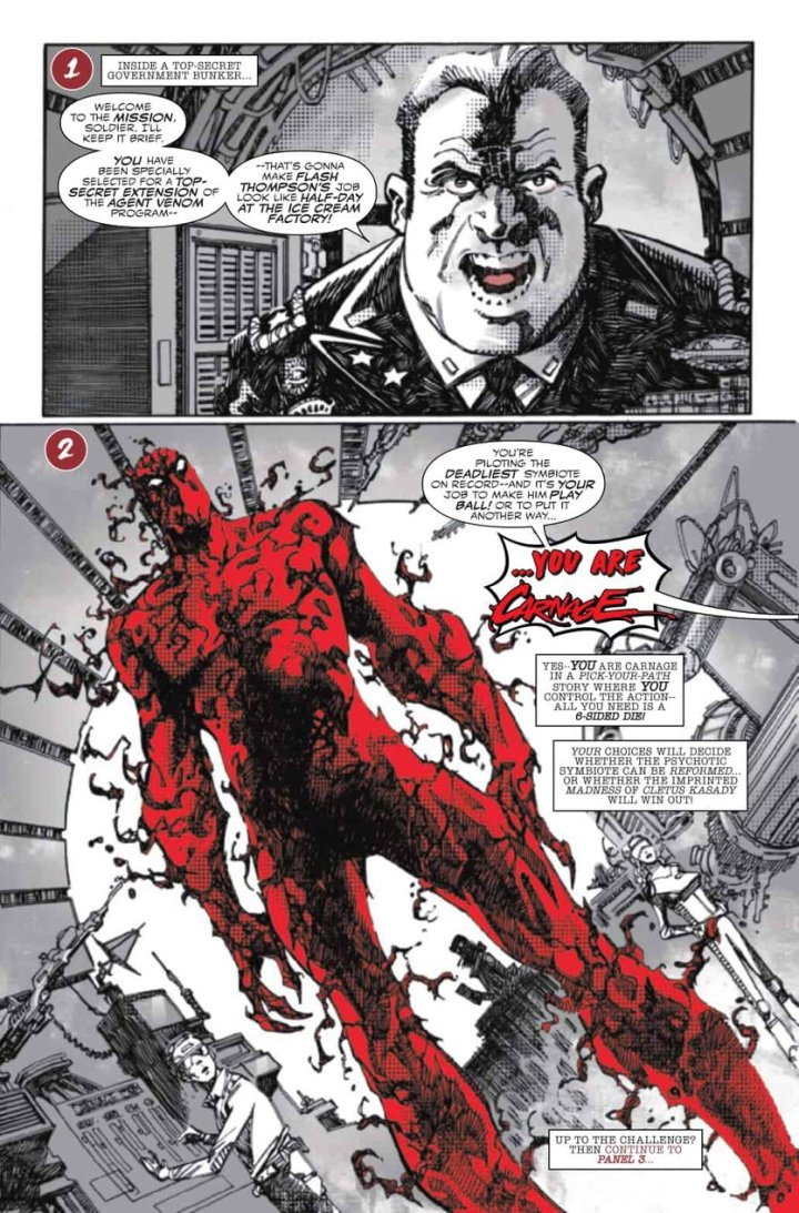 Carnage Black White Blood preview #6
