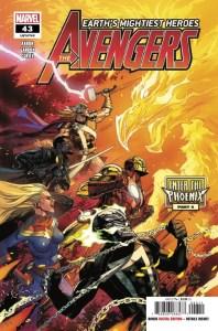 avengers #43 cover