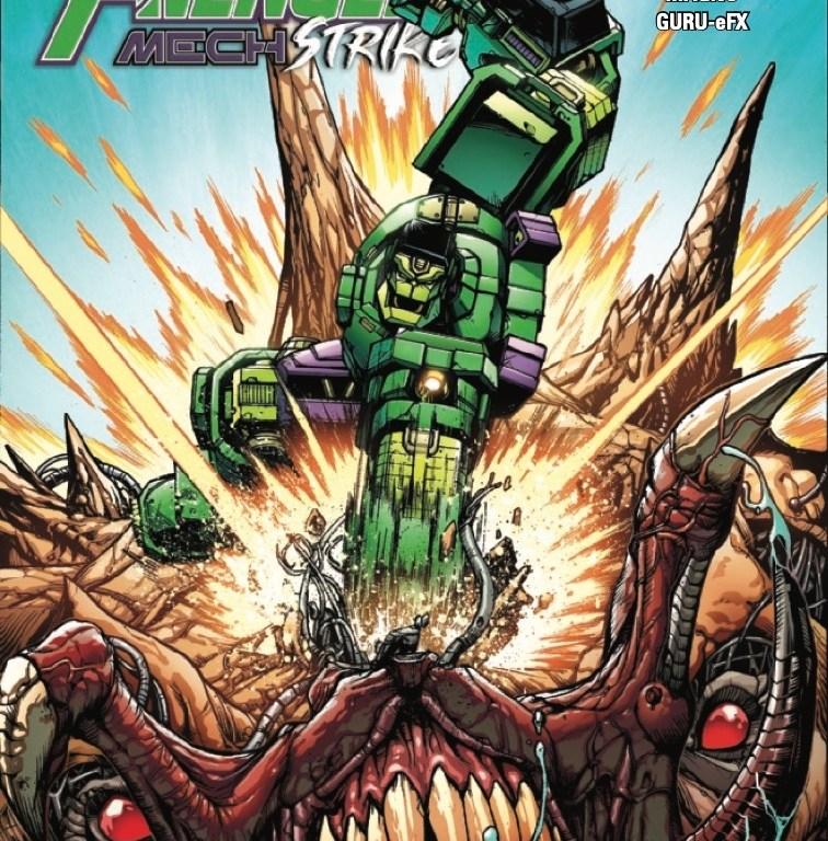 avengers mech strike #2 cover