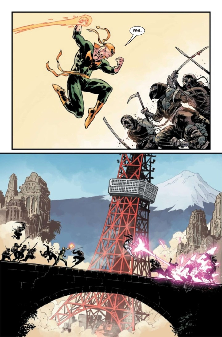 Iron Fist: Heart of the Dragon #3 p5