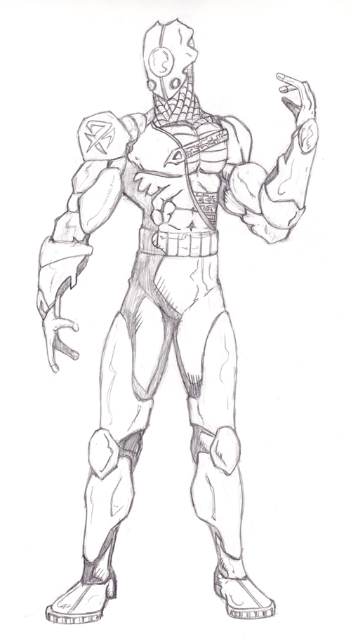 Dra'Zun, Guardian Droid Original Pencils