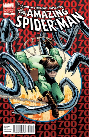 Amazing Spider-Man #700 2nd Printing