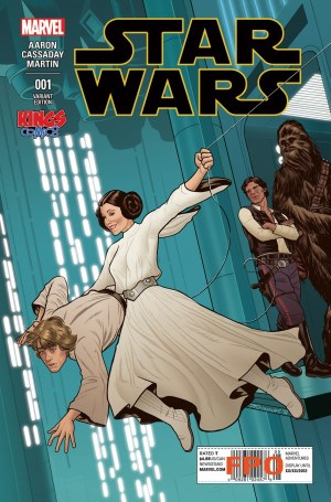 Star Wars #1 (Kings Comics Joe Quinones Variant)