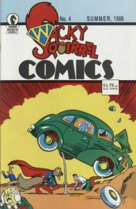 Wacky Squirrel Comics #4
