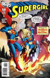 Supergirl Vol. 5 58 (DC 75th Anniversary Cover)
