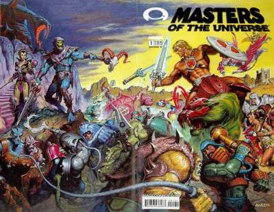 Masters of the Universe #1 Gold