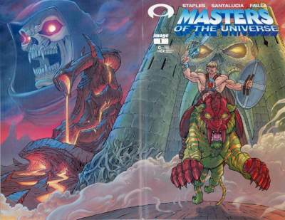 Masters of the Universe #1 Graham Crackers