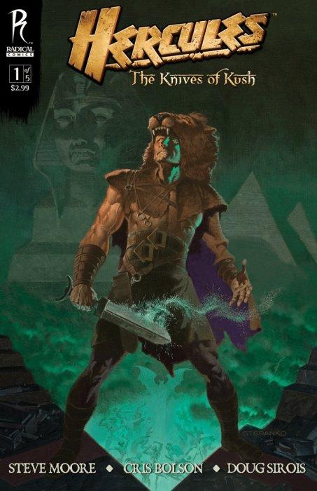 Hercules: Knives of Kush #1
