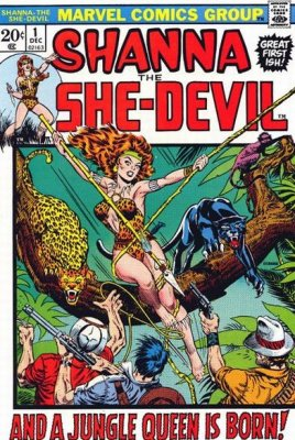 Shanna the She Devil #1