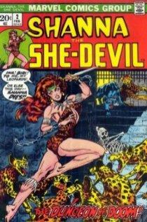 Shanna the She Devil #2