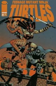 Teenage Mutant Ninja Turtles #21
