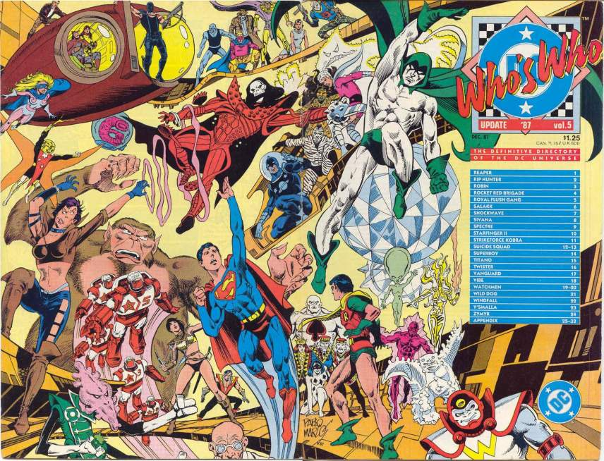 Who's Who in the DC Universe Update '87 #5