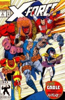 X-Force #8 (1st App Domino as Domino)