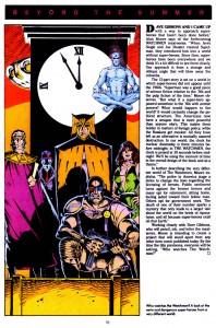 DC Spotlight #1 interior Watchmen page