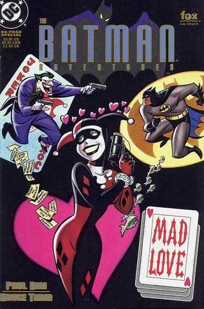 BATMAN ADVENTURES MAD LOVE