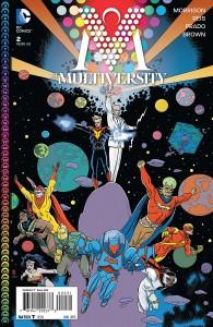 Multiversity #2 Allred Variant