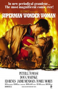 Superman / Wonder Woman #17 (Gene Ha Movie Poster Variant Cover)