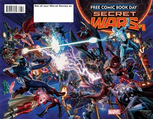 FCBD 2015 Marvel: Secret Wars #0