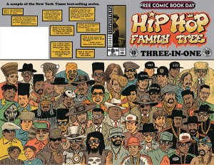 FCBD 2015 Fantagraphics: Hip-Hop Family Tree Three-In-One
