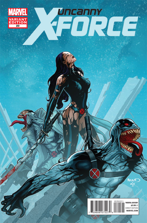 Uncanny X-Force vol.1 #20 (Venom 1:50 Variant)