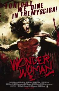 Wonder Woman #40 (Bill Sienkiewicz Movie Poster Variant)