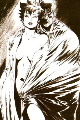 Nude 52 Catwoman & Batman