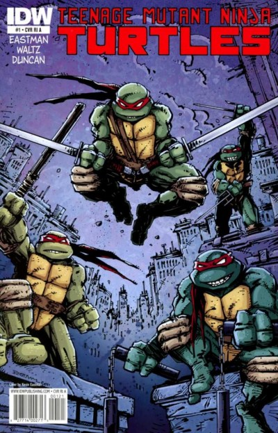 Teenage Mutant Ninja Turtles #1 RI Cover ATeenage Mutant Ninja Turtles #1 RI Cover A