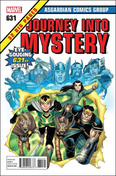 Journey Into Mystery #631 50th Anniversary Cover