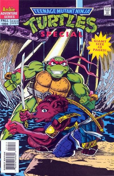 Teenage Mutant Ninja Turtles Special #10
