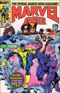 Marvel Age #33