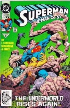 SUPERMAN MAN OF STEEL #17 2nd