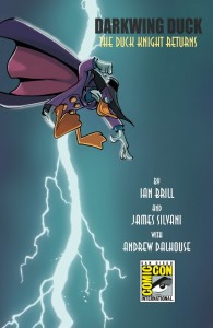 San Diego Comic-Con 2010 Exclusive Darkwing Duck #1 Variant