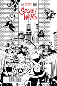 Secret Wars #1 Zdarsky Sketch Variant