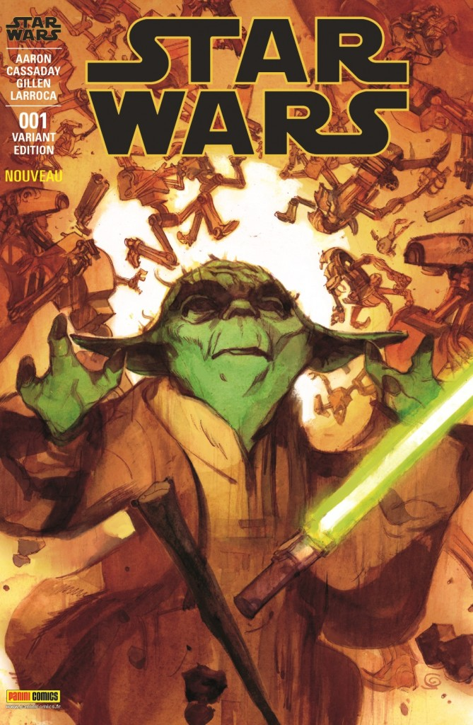 Star Wars #1 by Greg Tocchini