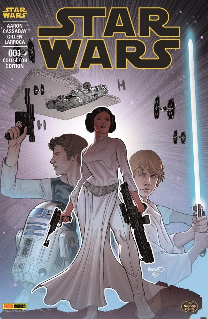 Star Wars #1 by Paul Renaud