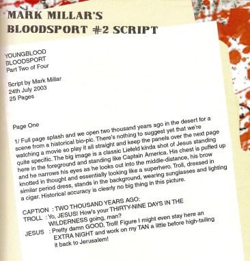 Youngblood Bloodsport #2 Script
