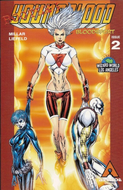 Youngblood: Bloodsport #2 Bootleg Cover
