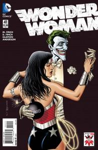 Wonder Woman #41 Bolland Joker Variant