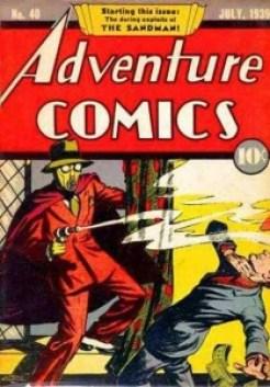 ADVENTURE COMICS #40