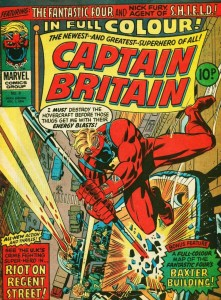CAPTAIN BRITAIN #8