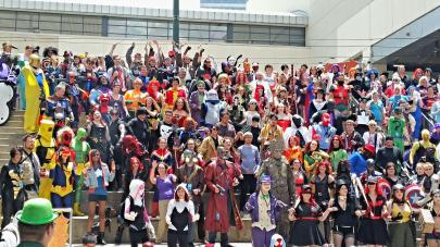 Cosplayers Assemble!