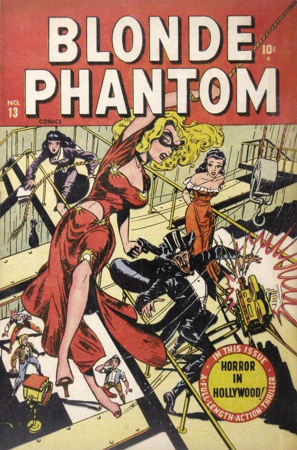 Blonde Phantom #13