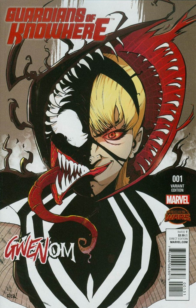 Guardians of Knowhere #1 Gwenom Cover