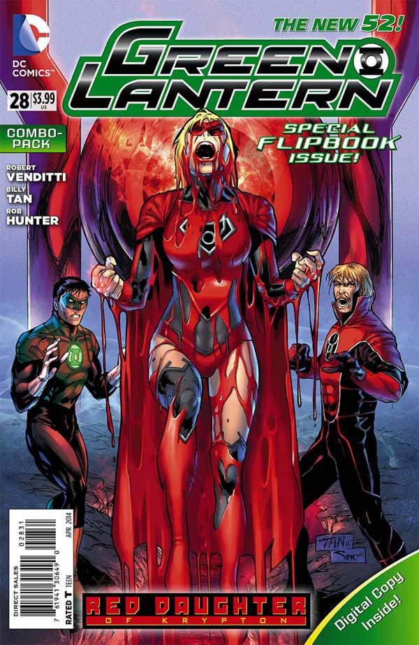 Green Lantern #28 Combo Pack
