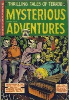 MYSTERIOUS ADVENTURES #21