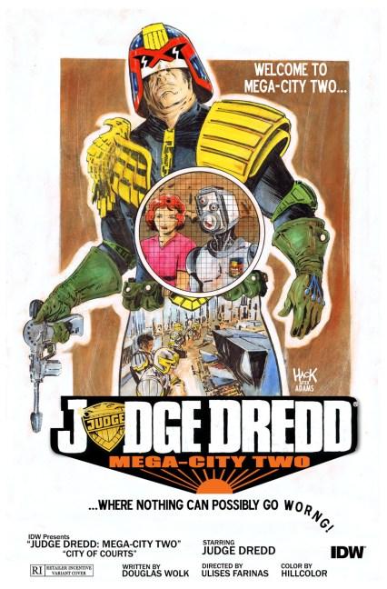 Judge Dredd: Mega-City Two #4