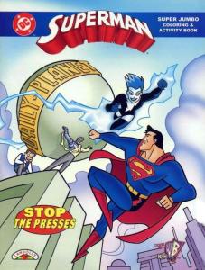 Superman Super Jumbo Coloring Book
