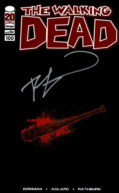 Walking Dead #100 Lucille Retailer Incentive