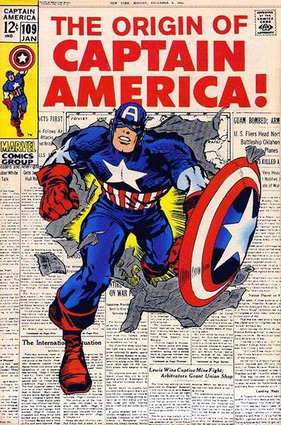 Captain America #109